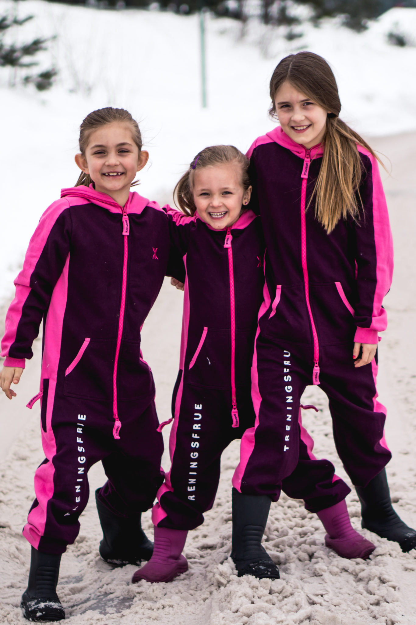 Squad jumpsuit kids – Burgundy